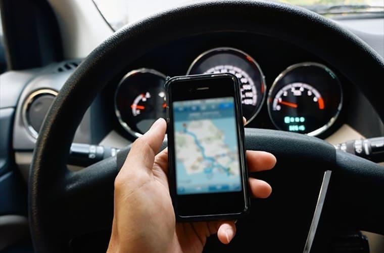GPSでの追跡